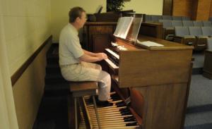SJB at organ